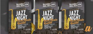 Jazz Night - Oscar Stivala Quartet - Canal Side Inn